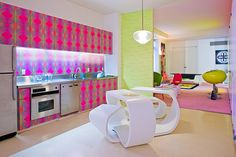 357 West 17th Street Colourful Loft by Karim Rashid, New York City, USA