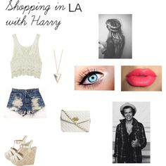 Shopping in LA with Harry