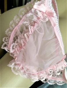 Seamless Pink Crossdresser Panties, Sheer Pouched Sexy Lace See Thru Sissy String Low Riders for Men, All Sizes, Free & Reduced Shipping Vintage Underwear, Cute Underwear, Lingerie For Men, Lingerie Outfits, Yellow Lingerie, Baby Doll Nighties, Male To Female Transgender, Pastel Goth Fashion, Stretch Lace