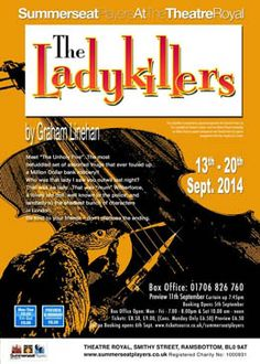 The Ladykillers by Summerseat Players 13th - 21st September 2014