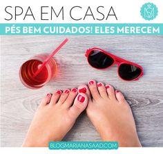 Feet Spa: relaxe os pés com um tratamento de spa em casa!