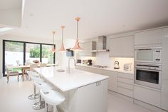 This Victorian terrace was our second project on the same street after the clients neighbours recommend us for the work. The house was a shell when we started, and Hughes Developments worked with the client on all aspects of the build, from planning and building regulations to kitchen fitting and bathroom design. The house is read more