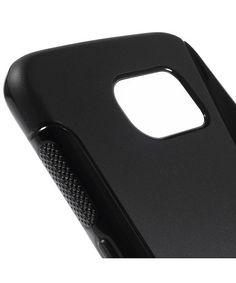 Samsung Galaxy S6 S-Curve TPU Back Cover Zwart
