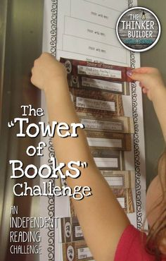 'Tower of Books' is a fresh alternative to your stuck-in-a-rut reading log. and versions, with lots of reading list options! Library Activities, Reading Resources, Reading Strategies, Reading Activities, Reading Comprehension, Reading Logs, Reading Workshop, Kids Reading, Teaching Reading