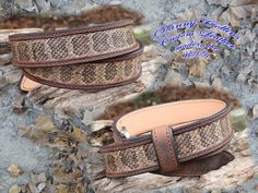 1 Real animal tanned diamond back rattle Snake skin belt part taxidermy clothing western ware 40 waist