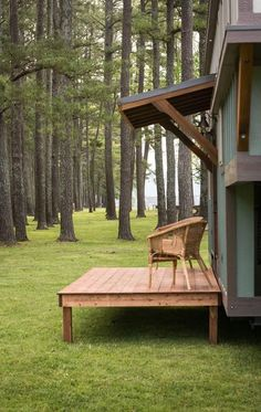 Deck - Retreat by Timbercraft Tiny Homes