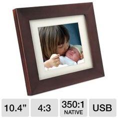 Philips 10.4 Inch Digital PhotoFrame SPF3400/G7 Best Digital Photo Frame, Nativity, Frames, Decor, Decoration, The Nativity, Frame, Decorating, Birth