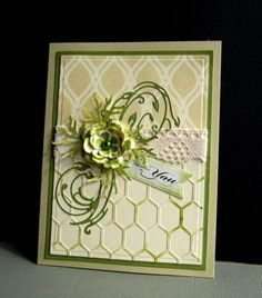 FS372 Antique Greens by catluvr2 - Cards and Paper Crafts at Splitcoaststampers