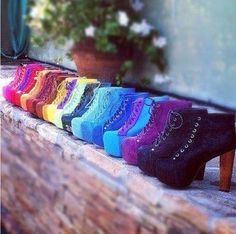 Jeffrey Campbell. I need every pair of these.