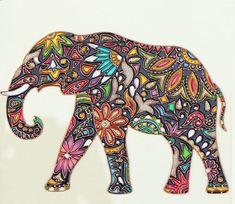 Stained glass art by beautiful Russian artist Julia Slepchenko
