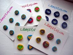 Polymer Buttons by Lilley1, via Flickr