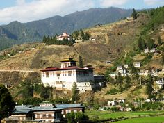 Bhutan country information Country Information, Bhutan, Mansions, Landscape, House Styles, Home Decor, Scenery, Decoration Home, Manor Houses