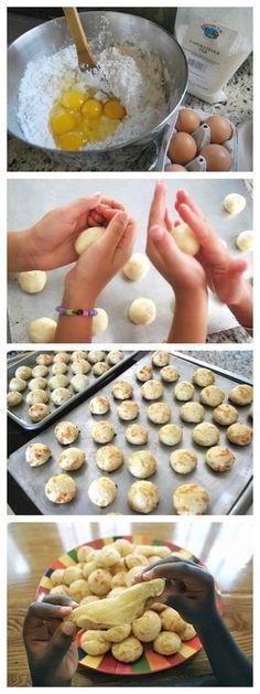 Brazilian Pao de Queijo Recipe for Kids- Kid World Citizen