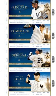 New York Yankees 2013 Campaign on Behance-1---- core four