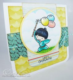 Luvn The Journey - Takeo **** Sister Stamps available from www.HankoDesigns.com ****