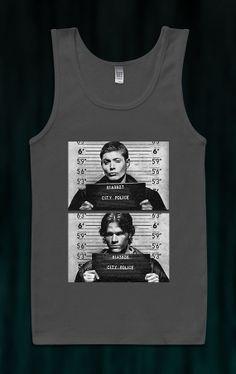 Trending Item Supernatural Tank Top Ladies Tank Top T-Shirt American Apparell Shirtless