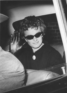 Reclusive: Marina, pictured after giving evidence to the Warren Commission in the 1960s, has rarely been seen since