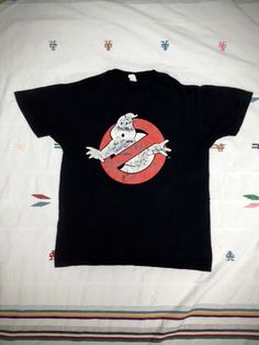 Check out this item in my Etsy shop https://www.etsy.com/listing/255089453/vintage-ghost-busters-t-shirt-size-m