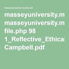 The Ethical Teacher, Campbell,E, (2003)I have included key readings from the course book so that I can revisit them when appropriate.