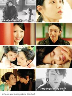 """favourite asian drama's couples: Wang So and Hae Soo ↳ Moon Lovers: Scarlet Heart Ryeo """"""""The late King Taejo's last words were that life is fleeting. Drama Quotes, Tv Quotes, Scarlet Heart Ryeo Wallpaper, Moon Lovers Drama, Yoo In Na, Wang So, Get My Life Together, Lee Joongi, Weightlifting Fairy"""