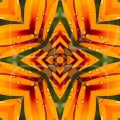 kaleidoscope, square, texture, pattern, symmetry, background, abstract, wallpaper, abstraction, textured, repetitive, geometric, orange