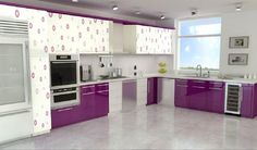 Count Them: Bright And Colorful Kitchen Design Ideas