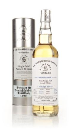 Bruichladdich 21 Year Old 1992 - Un-Chillfiltered (Signatory): You never know what you're going to get from Bruichladdich, especially when it's from a third-party bottler. (Denver Colorado AIDS Project 2014)