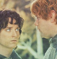 """Let me drink first, Mr. Frodo,"" he said. ""All right, but there's room enough for two."" ""I didn't mean that,"" said Sam. ""I mean: if it's poisonous, or something that will show its badness quick, well, better me than you, master, if you understand me."" ""I do. But I think we'll trust our luck together, Sam; or our blessing."""