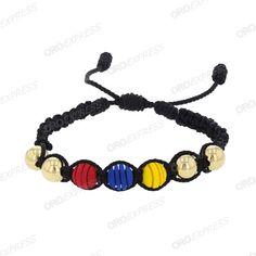 Pulsera neopreno oroexpress - joyeria Cool Mens Bracelets, Jewelry Crafts, Jewels, Gifts, Pastel, Women, Seed Beads, Diy Kid Jewelry, Vestidos