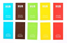HUB Business Cards on Behance