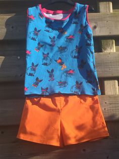 Kindershirt en short