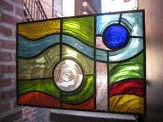 abstract stained glass window | Stained Glass