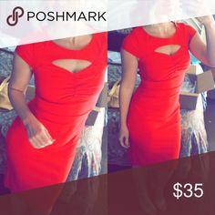 Modcloth Red Vintage Dress Red vintage Stretchy Dress ModCloth Dresses Mini