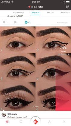 7 einfache Make-up-Tipps, um Ihre Augen zum Platzen zu bringen O Check - Samantha Fashion Life 7 simple makeup tips to make your eyes pop O check 7 simple makeup tips to make your eyes pop-style O Activate - Eyebrow Makeup Tips, Makeup Eye Looks, Makeup 101, Eye Makeup Steps, Contour Makeup, Skin Makeup, Makeup Ideas, Makeup Inspo, Lip Contouring