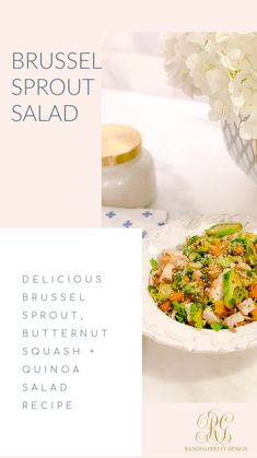 Best Appetizer Recipes, Best Appetizers, Healthy Salad Recipes, Dinner Recipes, Brussel Sprout Salad, Brussels Sprouts, Sprouts Recipe, Pinwheel Recipes, Cream Cheese Recipes