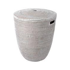 Discover the Baolgi Laundry Basket - White at Amara