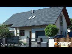 Film z realizacji projektu ARCHON+ Dom w wisteriach Minimal House Design, Minimal Home, Exterior Design, Interior And Exterior, Micro House, Home Projects, Minimalism, Villa, Traditional