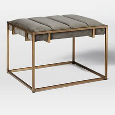 """Fontanne Upholstered Ottoman - Square 
