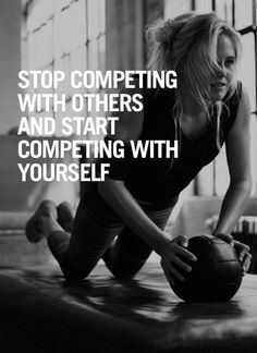 Stop Competing With Others And Start Competing With Yourself