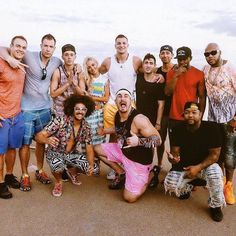 "GRONK FITNESS / G&G FITNESS on Instagram: ""Very fortunate to have such great people around us. Best weekend ever! Where's @wakaflocka ??? #workhardplayhard #runaway #Gronkpartyship #family #haven"""