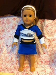 American Girl Doll Clothes Cheer by ChemicalCityCouture,