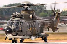 helicopter military AS-332M1 Super Puma