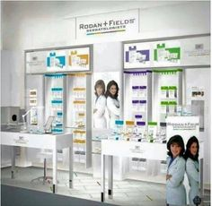 This was the display for Rodan+Fields when we were partnered with Estée Lauder in Nordstrom, Neiman Marcus & Bloomingdales. R+F was the #1 selling clinical skincare line in those high end department stores. In 2007, R+F became the FIRST premium skincare line to exit department stores for the world of direct selling. For the past four years, R+F has been the fastest growing company in premium skin care in the USA! We are currently the 4th largest but with 106% growth rate year after year, it…