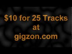 Great gig for a great price. I kinda like the idea of getting royalty free music tracks.    It makes your work easier. www.gigzon.com gives your this opportunity by getting this gig for a low price.     There is no easier way to get music like this.