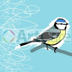 Bluebird (C) ArtCare 2015 Designed by Lesley Meaker and Penny Robbins #ArtCare