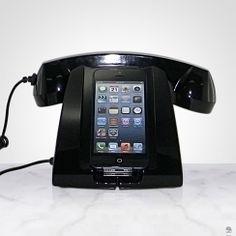 SUPORTE PARA IPHONE 5 E FONE PRETO