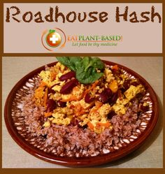 This is a hearty, cholesterol-free dish that will keep you from ever missing eggs or hash again. Roadhouse Hash is so versatile, it is a great dish for breakfast, lunch, or dinner! To modify serving sizes on any of my recipes, simply change the number of servings in the box under the ingredient list. All of the ingredient amounts will automatically adjust for you. To print the recipe, click on the picture of the printer beside rating stars.