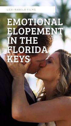 Wedding Film, Wedding Ceremony, Beach Wedding Photos, Wedding Photography And Videography, Real Couples, Wedding Videos, Florida Keys, Industrial Wedding, Real Weddings