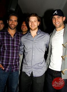 Talbot, Giroux and Bissonnette   @Amanda Snelson Gumpper <3 I LOVE hockey players! lol