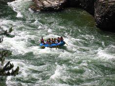 Jackson Hole, Wyoming - White water rafting